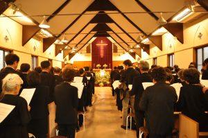 教会での葬儀