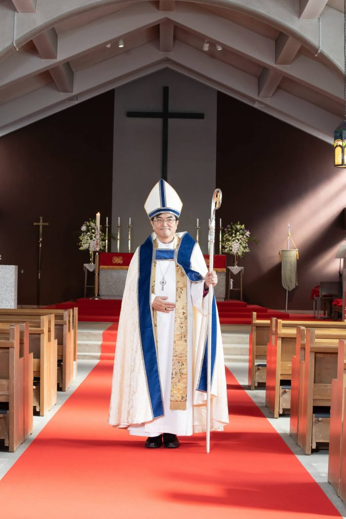 日本聖公会中部教区主教アシジのフランシス西原廉太